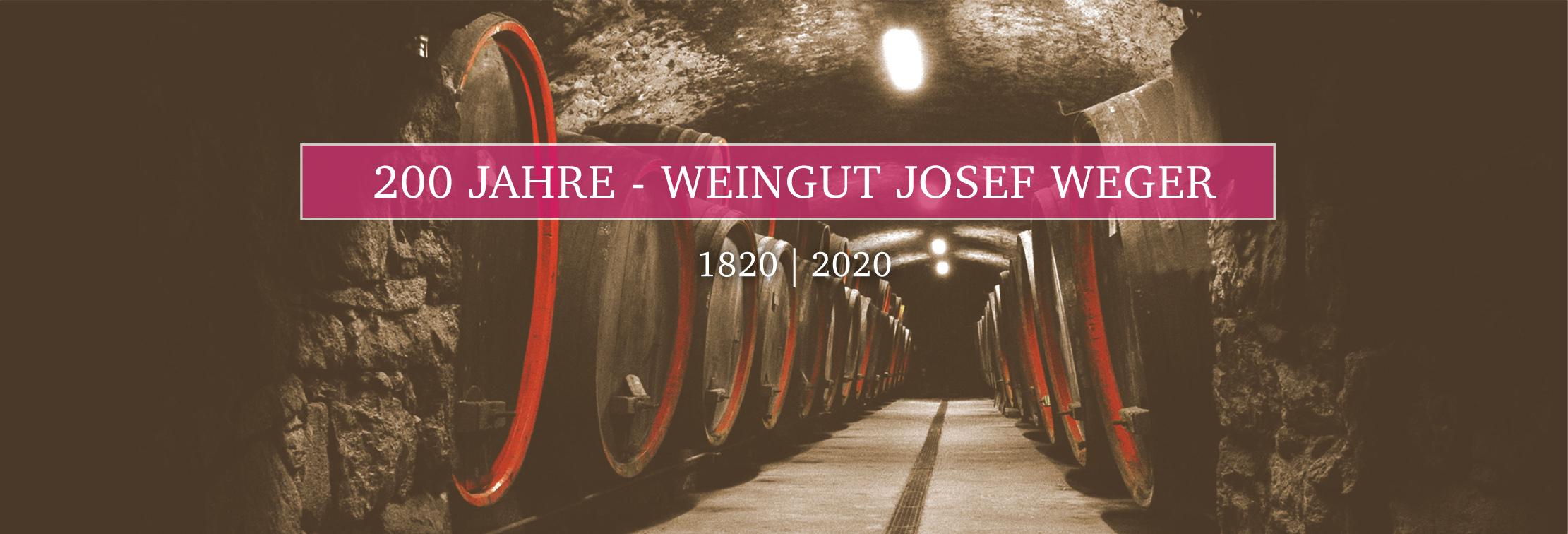 200 Jahre Weingut Josef Weger Girlan Keller